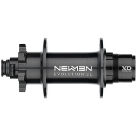 NEWMEN MTB SL Moyeu arrière 12x157 mm J-Bend 6 boulons SRAM XD, black anodised/grey